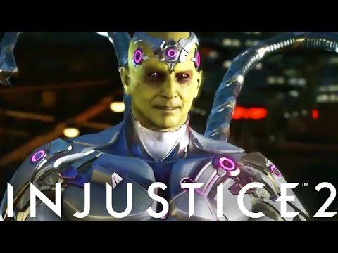 Injustice 2: Brainiac Vs Green Arrow Intro Dialogue (Injustice 2 Brainiac)