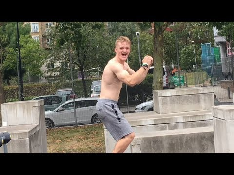 Frito - This Guy Show's Off Some Amazing Parkour Skills!