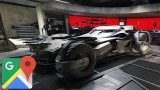 Quieres Visitar la casa de Batman?