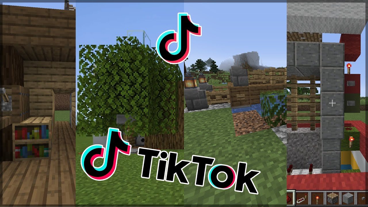 TIKTOK: Minecraft COMPILATION
