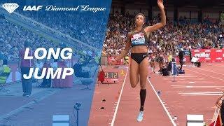 Malaika Mihambo 6.96 Wins Women's Long Jump - IAAF Diamond League Birmingham 2018