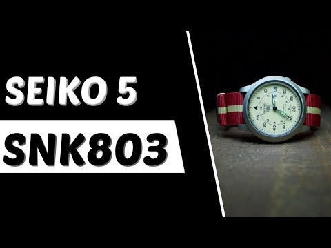 Seiko SNK803 Review: Seiko 5 Series Military Watch - Best Affordable Watches