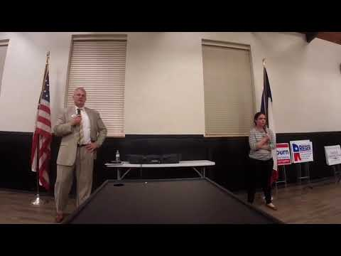 Bryan/College Station Tea Party- 2018 HD 14 Challenger Forum