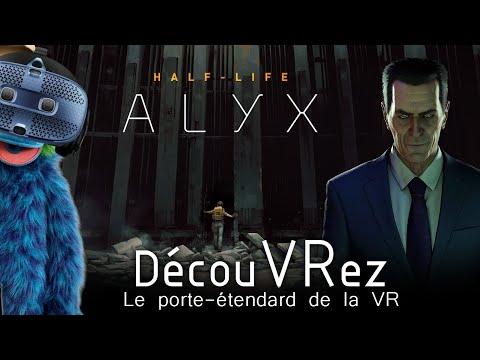 DécouVRez : HALF-LIFE ALYX | Gameplay Vive Cosmos | VR Singe