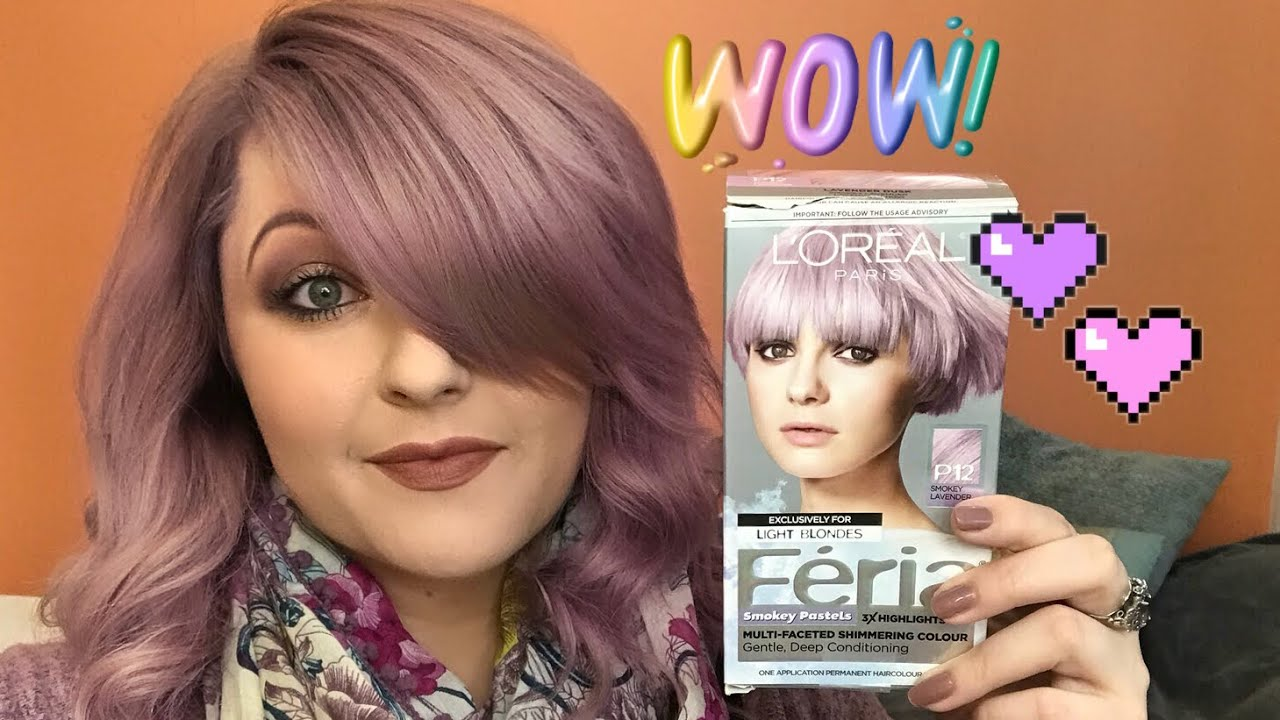 Review Smokey Pastel Lavender Hair Color L Or 233 Al F 233 Ria