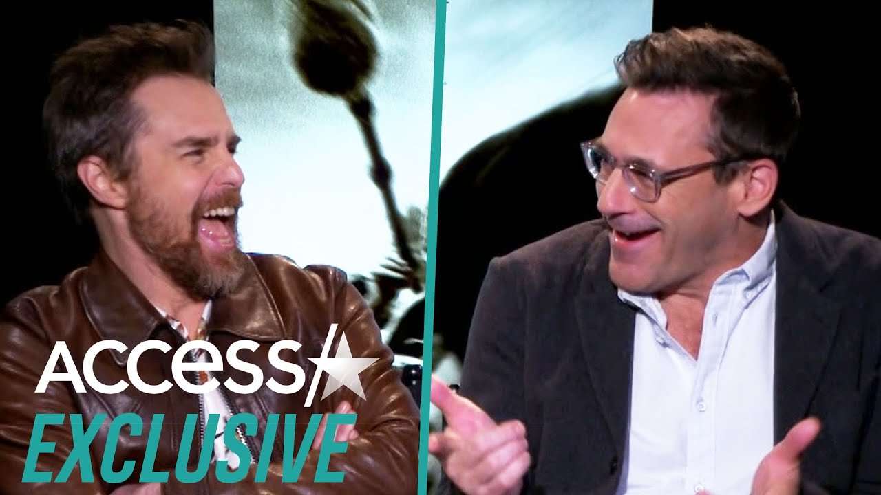Jon Hamm, Kathy Bates And Sam Rockwell Crack Up Doing Clint Eastwood Impressions