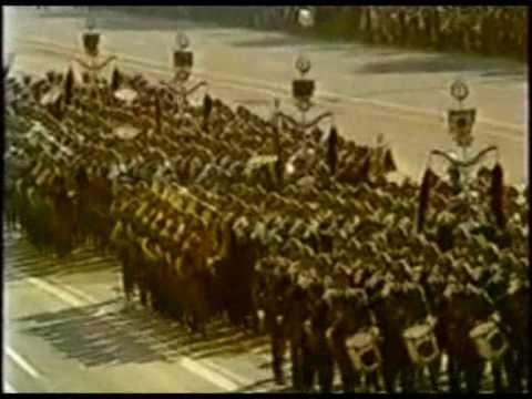 German Military NVA Parade - DDR 1987 - Yorckscher Marsch