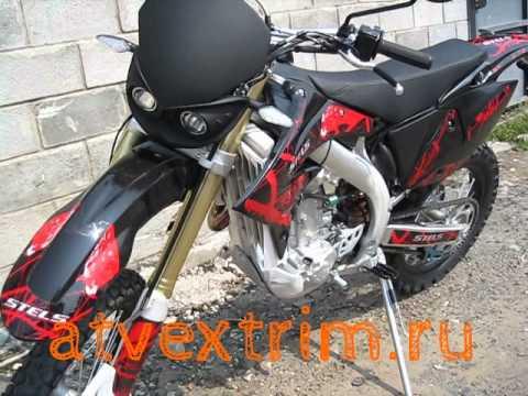 мотоцикл Стелс 450 Эндуро спорт