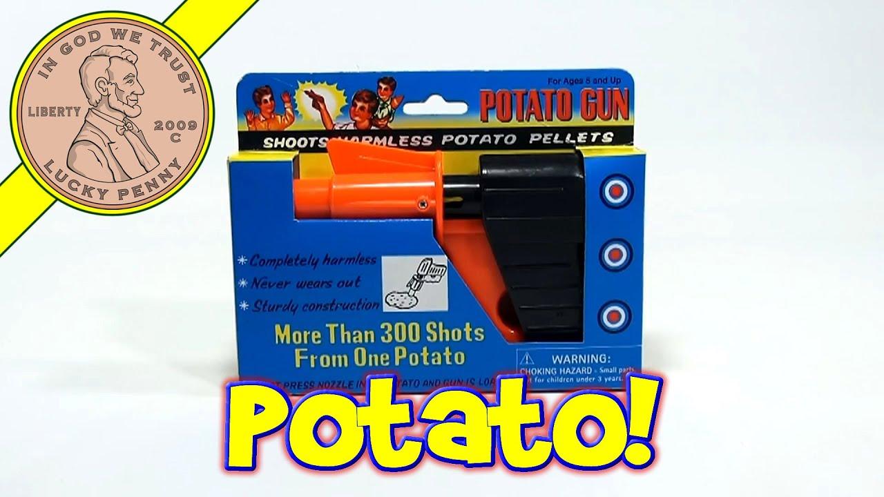 YouTube Potato Gun