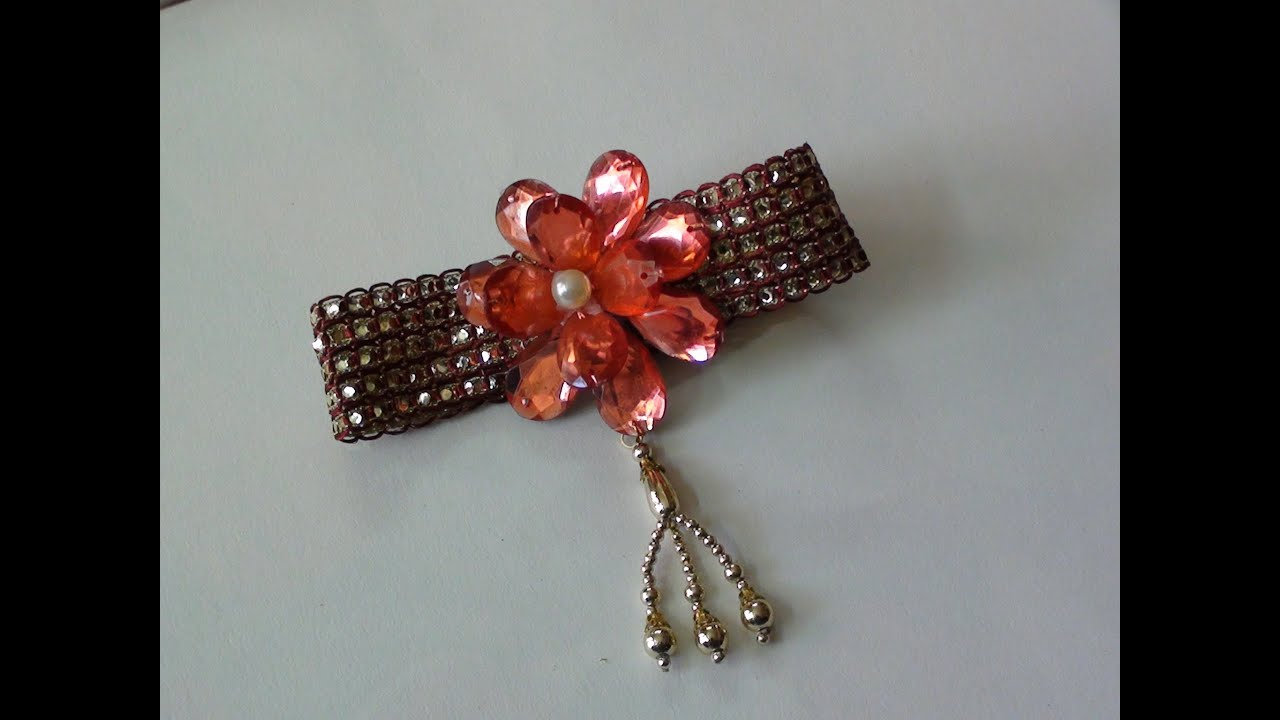 Do it yourself a curtain tie back accessory - YouTube