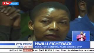 High Court has extended orders barring deputy Chief Justice Philomena Mwilu from prosecution