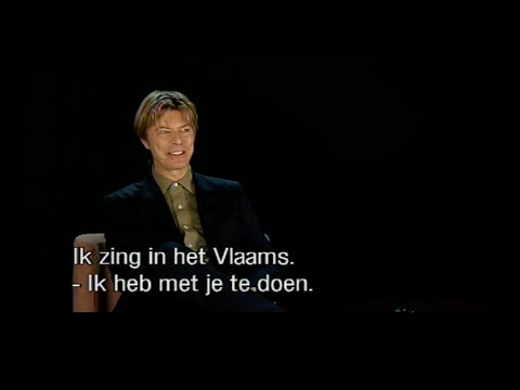 Luc De Vos interviewt David Bowie