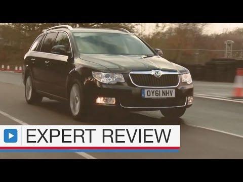 Skoda Superb estate expert car review