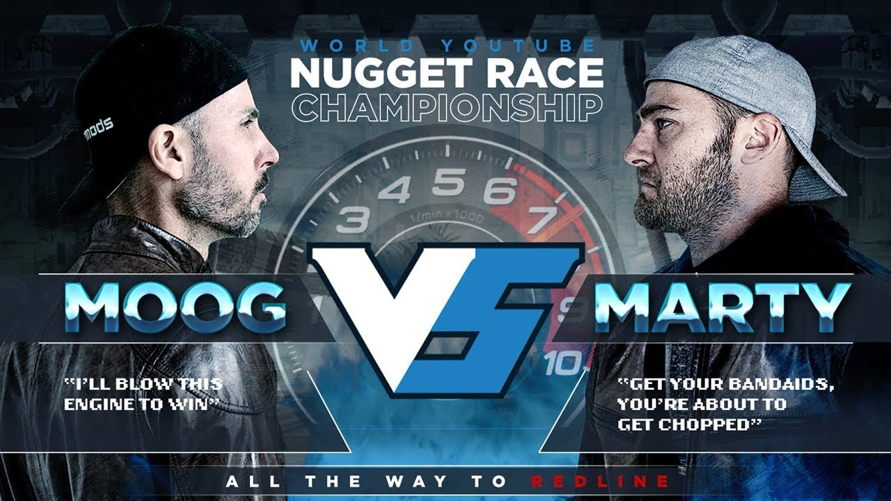 Marty VS MOOG - Ultimate YouTube Championship
