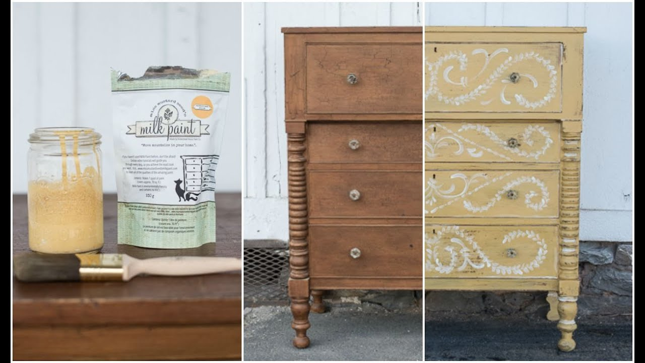 Well-liked 40 second dresser makeover | miss mustard seed - YouTube CO16