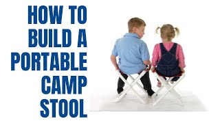 How To Make A Pvc Camp Stool