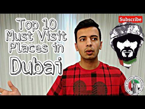 TOP 10 MUST VISIT PLACES IN UAE 2020 (HINDI) – DUBAI, ABU DHABI
