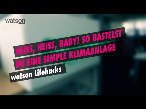 watson lifehacks diy klimaanlage youtube. Black Bedroom Furniture Sets. Home Design Ideas