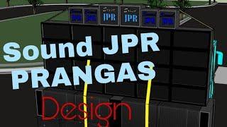 Design Sound JPR Prangas ( Dj la la la ) - Sound deso malang raya