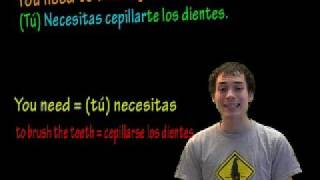 Using Multiple verbs + -ing with Reflexives in Spanish!