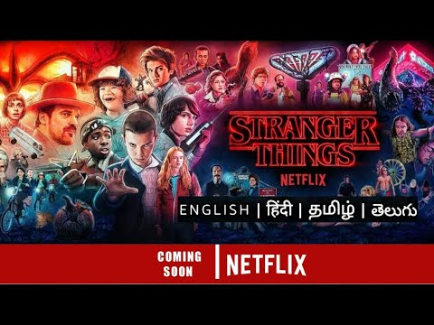 Download Strangers Things Tamil dubbed streaming updates | Netflix |