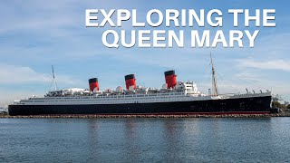 Exploring the Queen Mary in Long Beach and Taking the Haunted Encounters Tour