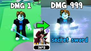 Unlocked All Secret Swords In Anime Artifacts Simulator! Noob To Master Roblox