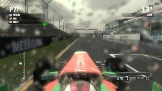 F1 2011 gameplay PC Full HD - First race Australia Rain ULTRA settings gtx 560 Directx 11
