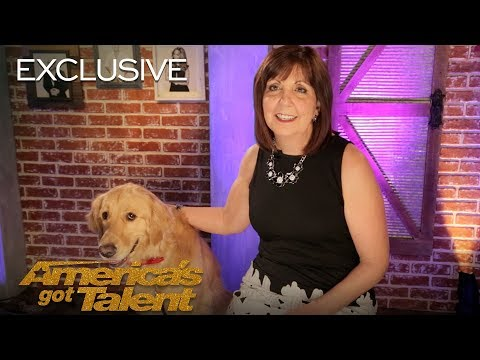 Oscar And Pam Bring AGT Their First Singing Dog - America's Got Talent 2018