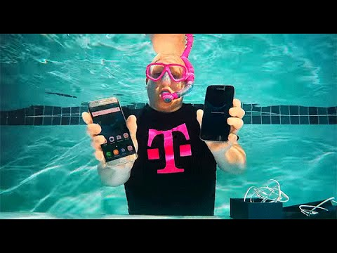 Samsung Galaxy S7 Unboxing UnderWater  | Specifications of Samsung Galaxy S7