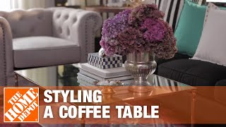 Start To Finishes: Styling A Coffee Table