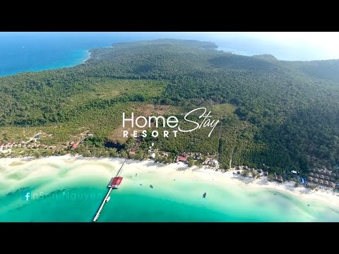 Koh Rong Samloem Island - Home Stay resort