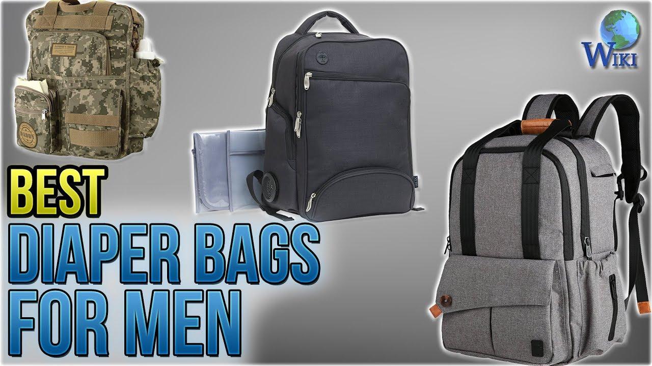 10 Best Diaper Bags For Men 2018