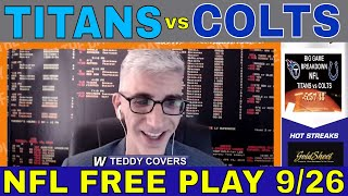 NFL Picks and Predictions | Titans vs Colts Betting Preview | Big Game Breakdown for Sept 22