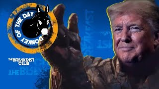 Trump Campaign Ad Shows Him As Avengers Villain Thanos