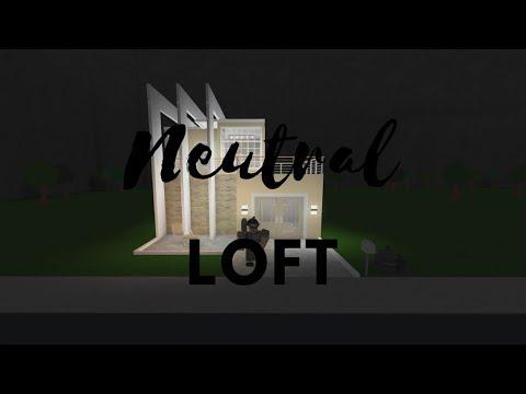 ROBLOX | Welcome To Bloxburg: Neutral Loft