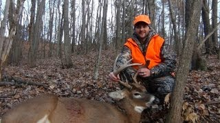Opening Day PA Rifle Buck Hunt (With Kill Shot)