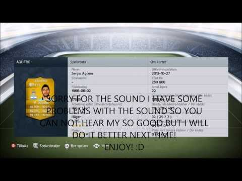 FIFA 14   800K SQUAD BUILDER Feat. 87 Pedro & Aguero