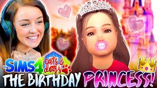👸NOELLE'S BIRTHDAY!👸 (+ Single Charlie?!)  (The Sims 4 CATS & DOGS #8🏖)