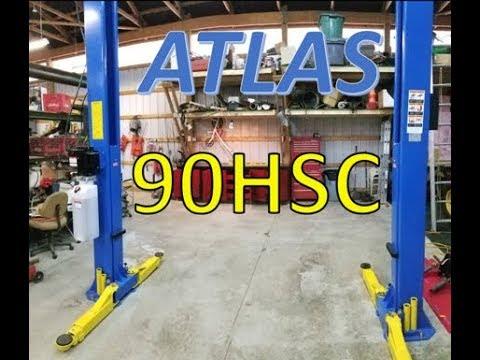 REVIEW | Atlas 90HSC 2 Post Lift!