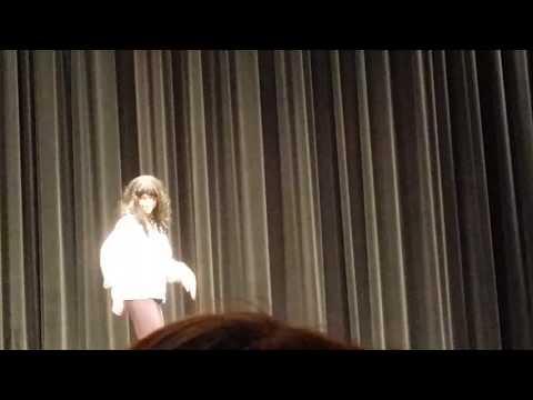 Single ladies performed at the waterford mott high school Mr.Mott pageant