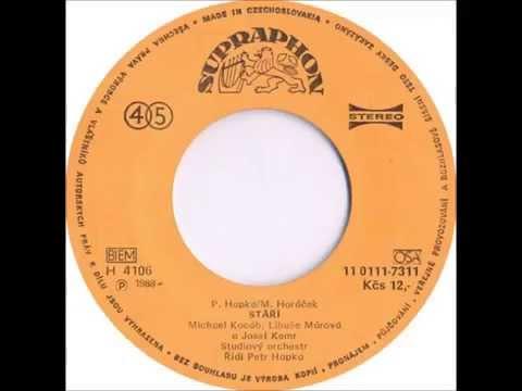 Michael Kocáb, Libuše Márová & Josef Kemr - Stáří [1988 Vinyl Records 45rpm]
