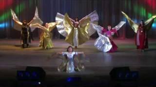 """Детский танец с крыльями """"Птички"""""""