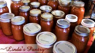 ~Home Canning Garden Sauce ~Tomato Soup Base With Linda's Pantry~