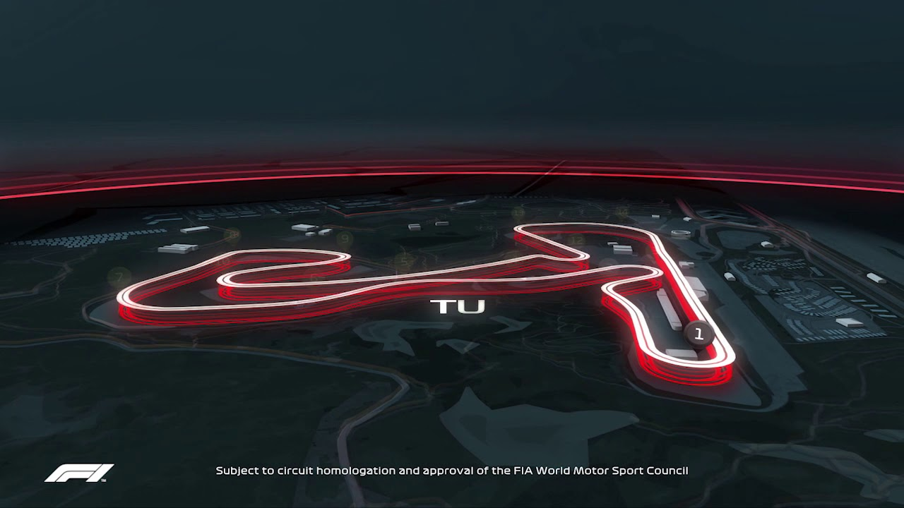 Track Animation Circuit Zandvoort Youtube