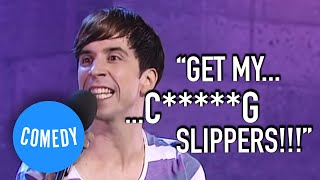 Russell Kane was taught to swear by his nan