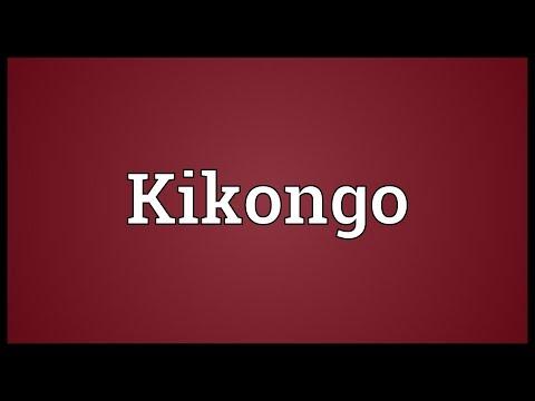 Kikongo Meaning