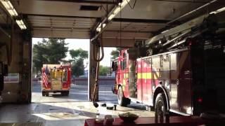 Building Fire Turnout!!! LVFR