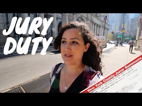MY JURY DUTY NYC EXPERIENCE