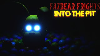 NO ENTRES En La PISCINA De BOLAS DE SPRINGBONNIE... | FNAF Fazbear Frights Into The Pit